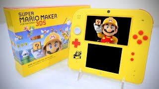 HANDS ON Nintendo 2DS SUPER MARIO MAKER EDITION [UNBOXING]