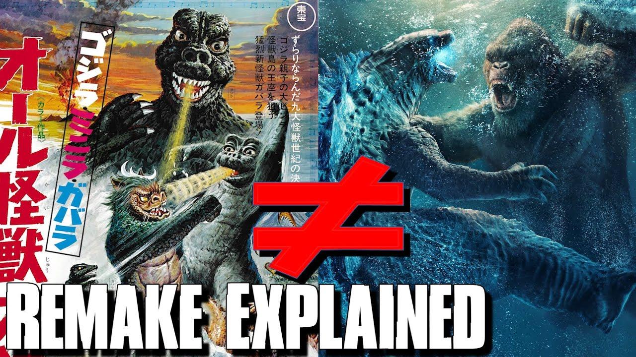 Godzilla VS Kong Is Actually A Remake Of Godzilla's Revenge! - Godzilla VS Kong Explained