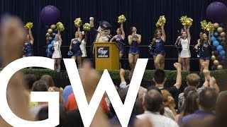 GW Welcome Week 2019