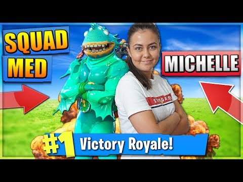 MICHELLE VINDER ET GAME MED SUBS! - FORTNITE DANSK