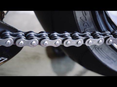 The BEST & CHEAPEST Motorcycle Chain Cleaner! KEROSENE!