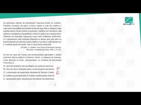 CWEK Simulado 3ª série e Pré-Vestibular 06
