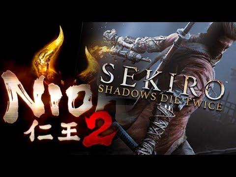 Sekiro: Shadows die twice y Nioh 2   Reacción y opinión