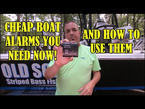 Boat Alarms YOU NEVER KNEW EXISTED !