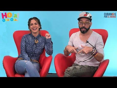 "La bella actriz cubana Rachel Cruz le cuenta todo a Alex Otaola en ""Hola! Ota-Ola"""