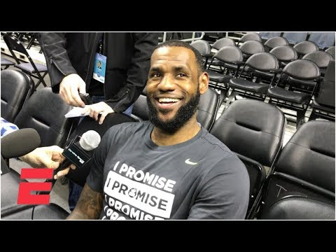 LeBron James on 'godly' first meeting with Michael Jordan, evolution of Kemba Walker | NBA Sound