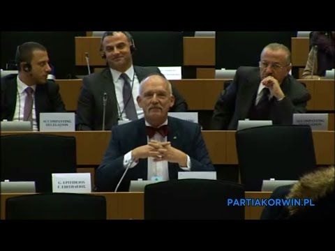 Janusz Korwin-Mikke on Committee on Foreign Affairs 23.02.2016