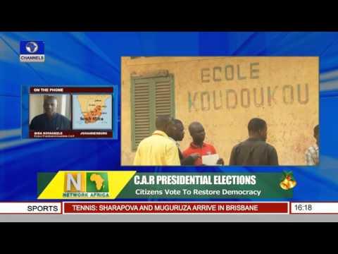 Network Africa: Citizens Vote To Restore Democracy In C.A.R 30/12/15 Pt.2