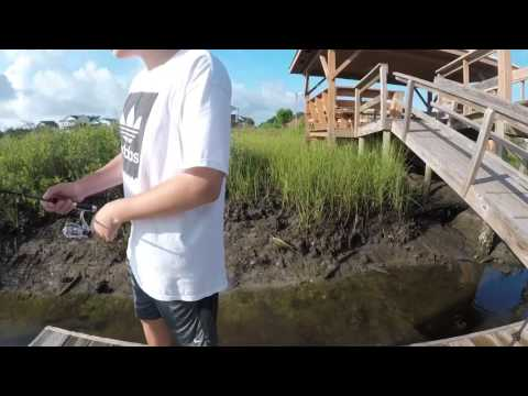 (Day 1) Fishing In North Carolina Giant Flounder