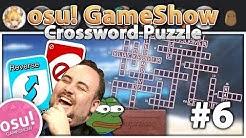 if osu! was a Crossword Puzzle Game | osu! Gameshow #6