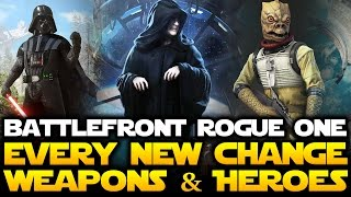 Star Wars Battlefront - Every New Gameplay Change to Heroes and Weapons! Patch Notes PART 2
