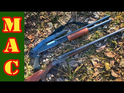 Cheap Shotguns 870 Police vs. Hammered Double Barrel!