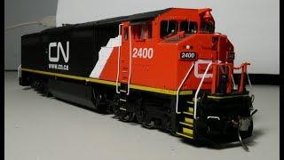 Review: HO Rapido GE C40-8M