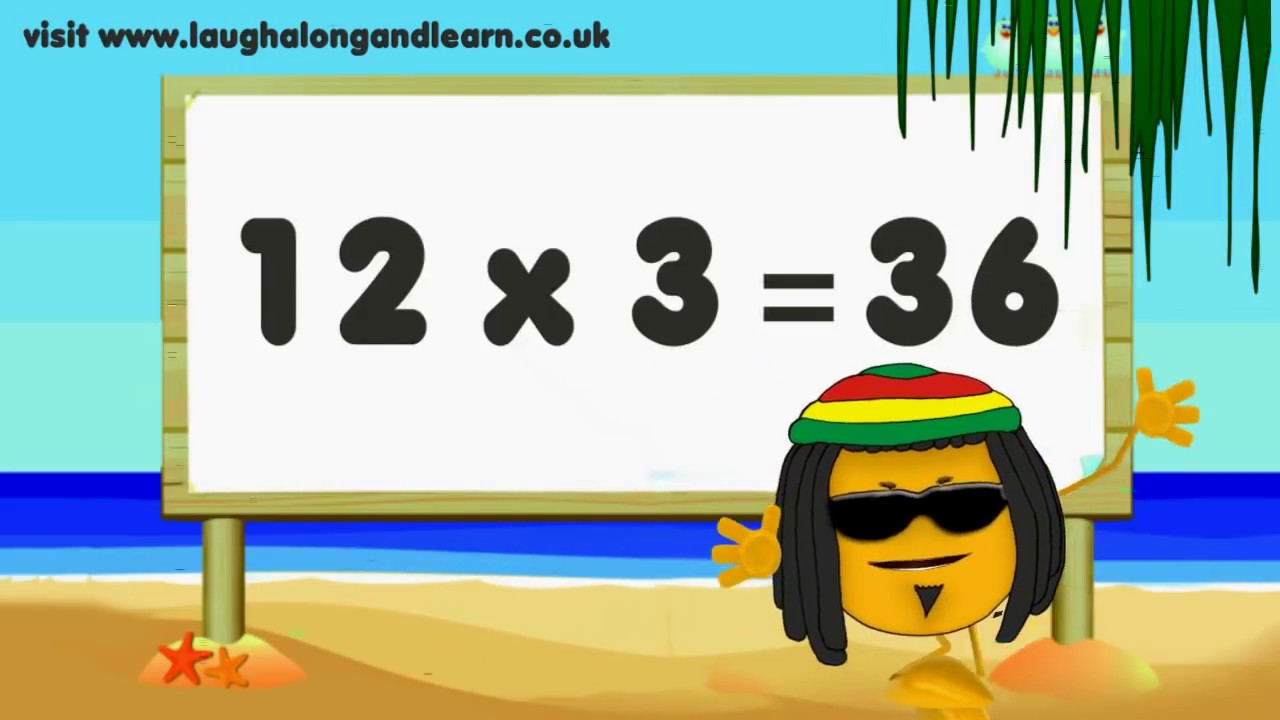 3 Times Tables Have Fun Learning Youtube