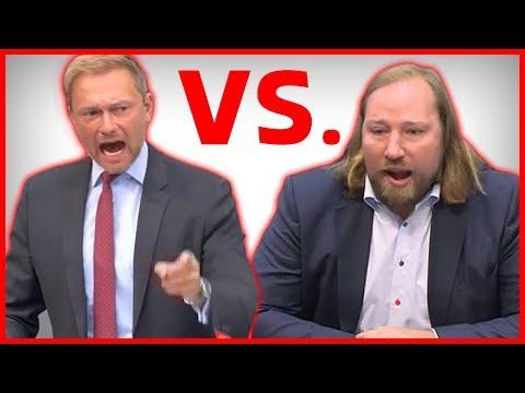 Rhetorik: Christian Lindner zerstört schreienden Anton Hofreiter