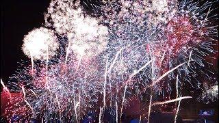 Circle of Light Closing fireworks 2018 | Офигенный салют на закрытие Круга Света на Гребном Канале