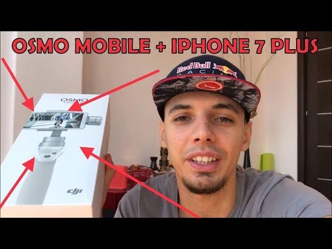 DJI OSMO MOBILE  + IPHONE 7 CADOUL PERFECT DE SARBATORI! Vlog 38 REVIEW