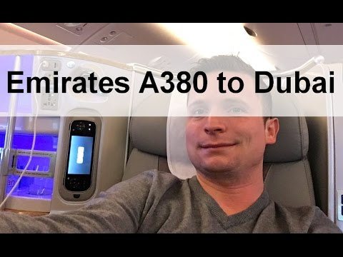 Arabian Adventure 1 - Konstanz to Milan - A380 Business Class
