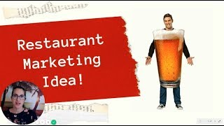 Unique Restaurant Marketing Idea: effective and affordable