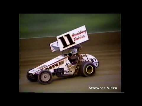 Action at Penn National Speedway 1987