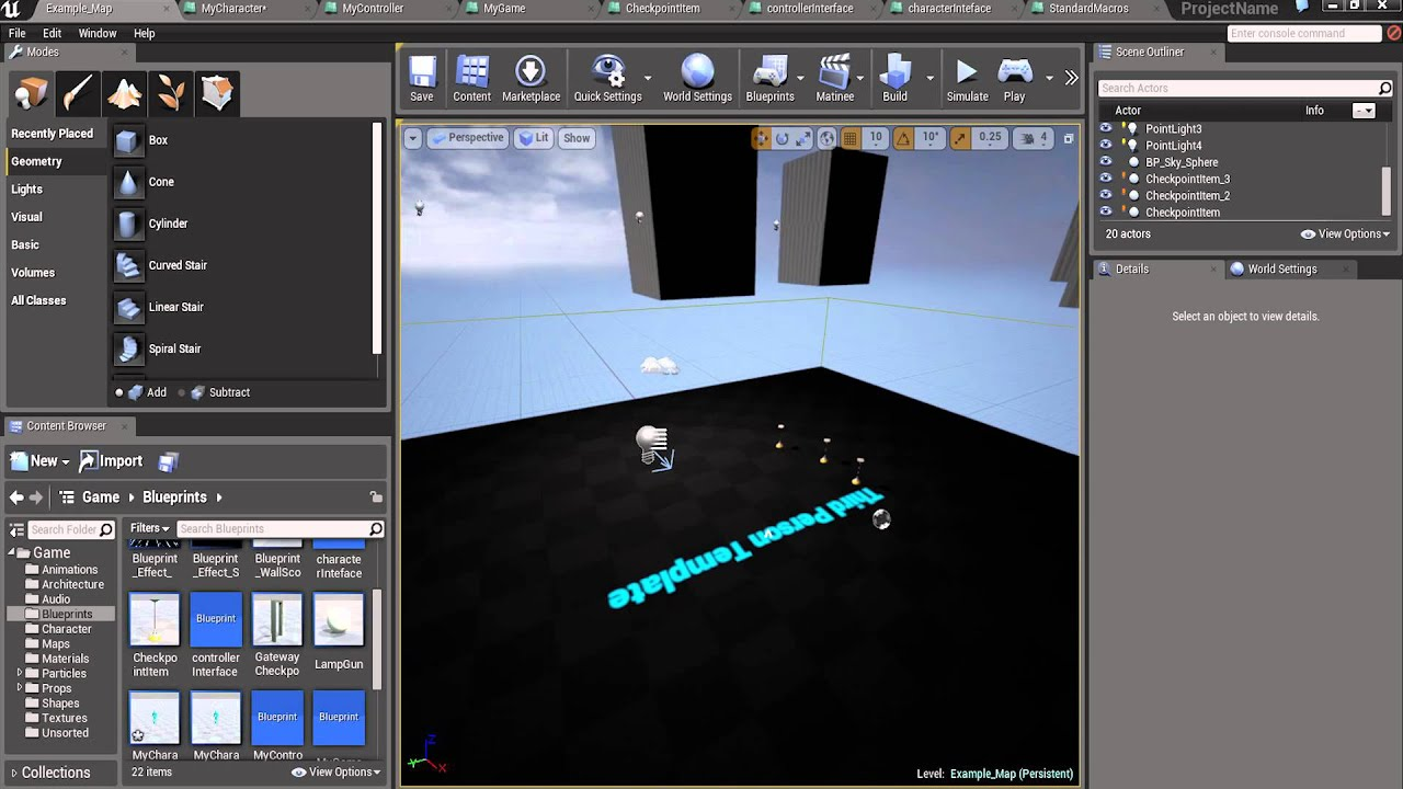 Blueprints how to double jump unreal engine 4 youtube blueprints how to double jump unreal engine 4 malvernweather Gallery