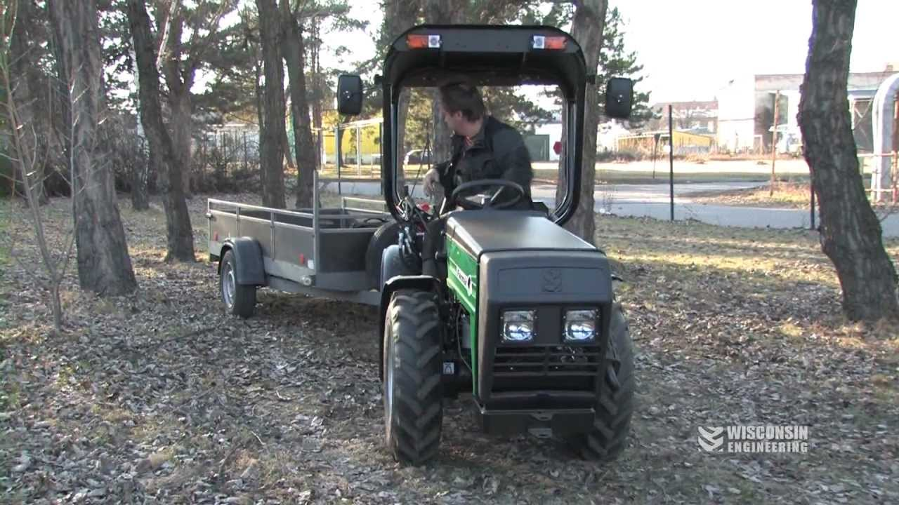 Articulating Compact Tractors
