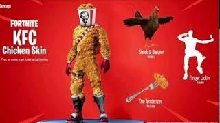 KFC skin on fortnite