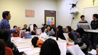Ca Doan Chung Nhan tap hat Noel 2013 #3