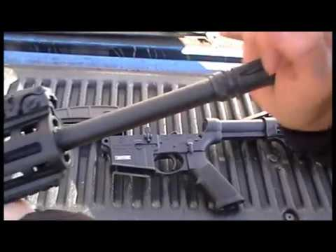 how to take apart a s&w m&p 15-22 sport