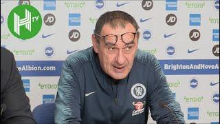 Brighton 1-2 Chelsea | Maurizio Sarri: Eden Hazard is vitally important to Chelsea
