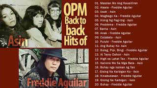 Asin, Freddie Aguilar Greatest Hits NON-STOP    Freddie Aguilar, Asin tagalog Love Songs Of All Time