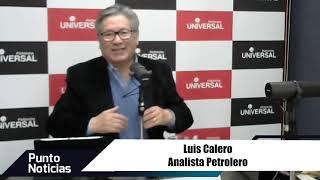 🎙#PuntoNoticias | Luis Calero - Situación del petróleo Ecuatoriano a nivel mundial