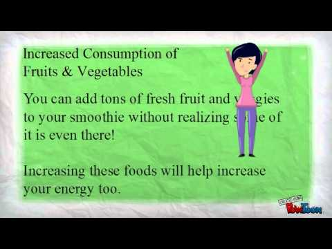 The Green Giant Superfood: Smoothies
