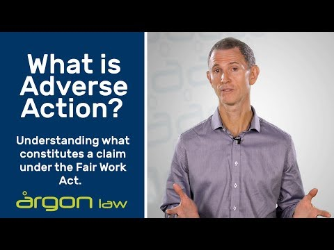 Adverse Action Claims | Legal Advice from a Sunshine Coast Commercial Lawyer