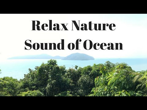 1 Hour of Relax Ocean Waves Sea Waves Stunning Sound