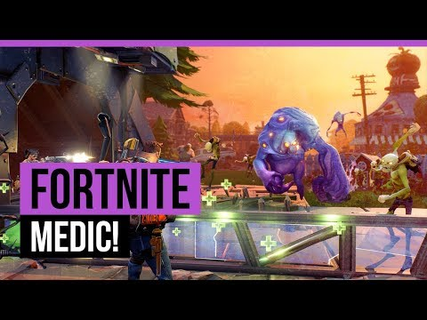 FORTNITE | STONEWOOD - MEDIC! [Quest]