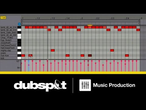 Ableton Live Tutorial: Creating Half-Time Beat Variations