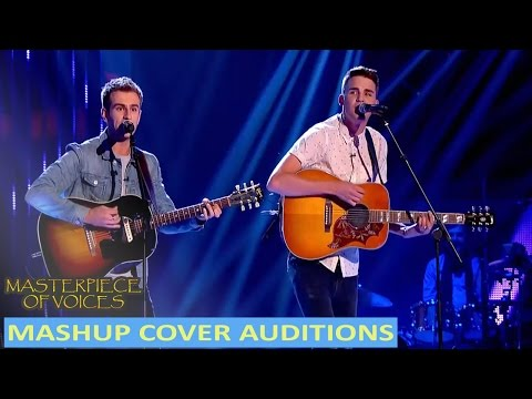 BEST MASHUP BLIND AUDITIONS IN THE VOICE
