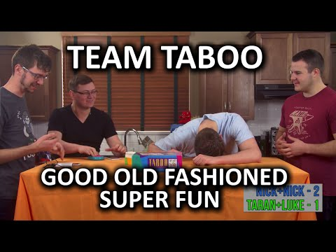 Taboo (The Board Game) - Super Fun Games Night