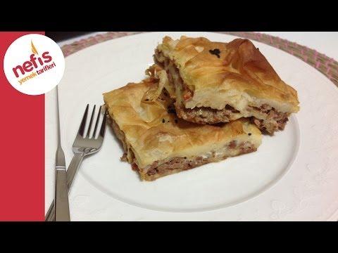 Kıymalı Tepsi Böreği Tarifi | Nefis Yemek Tarifleri