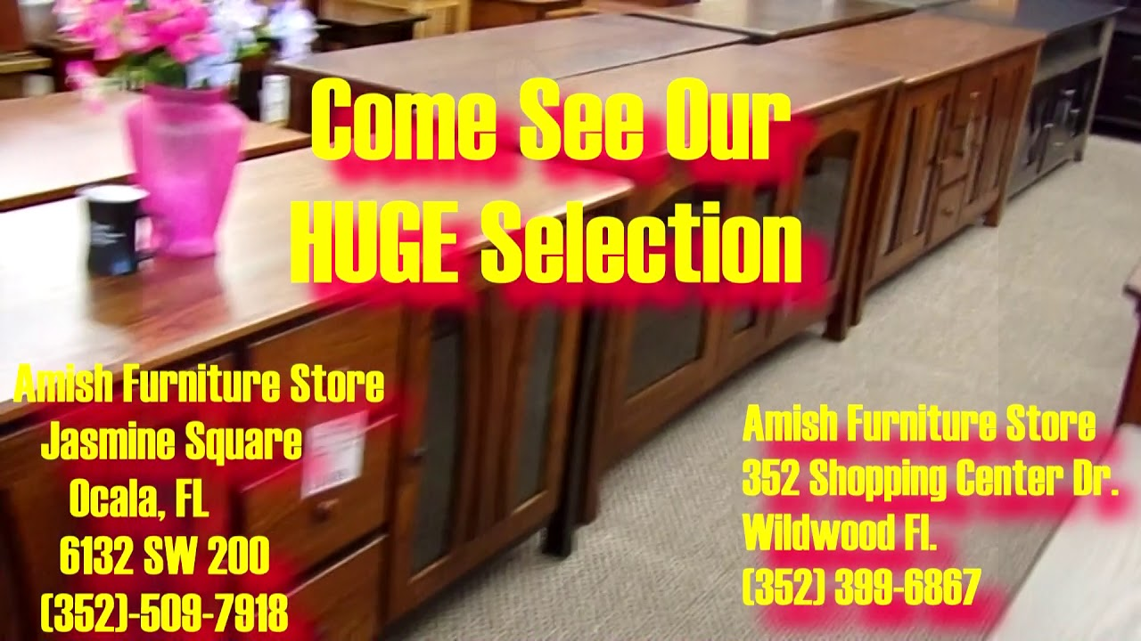 Amish Furniture Has Two Locations Wildwood And Ocala Florida