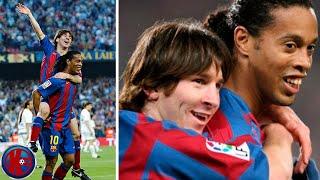 Месси 15 лет назад забил свой первый гол за Барселону ФутНовости