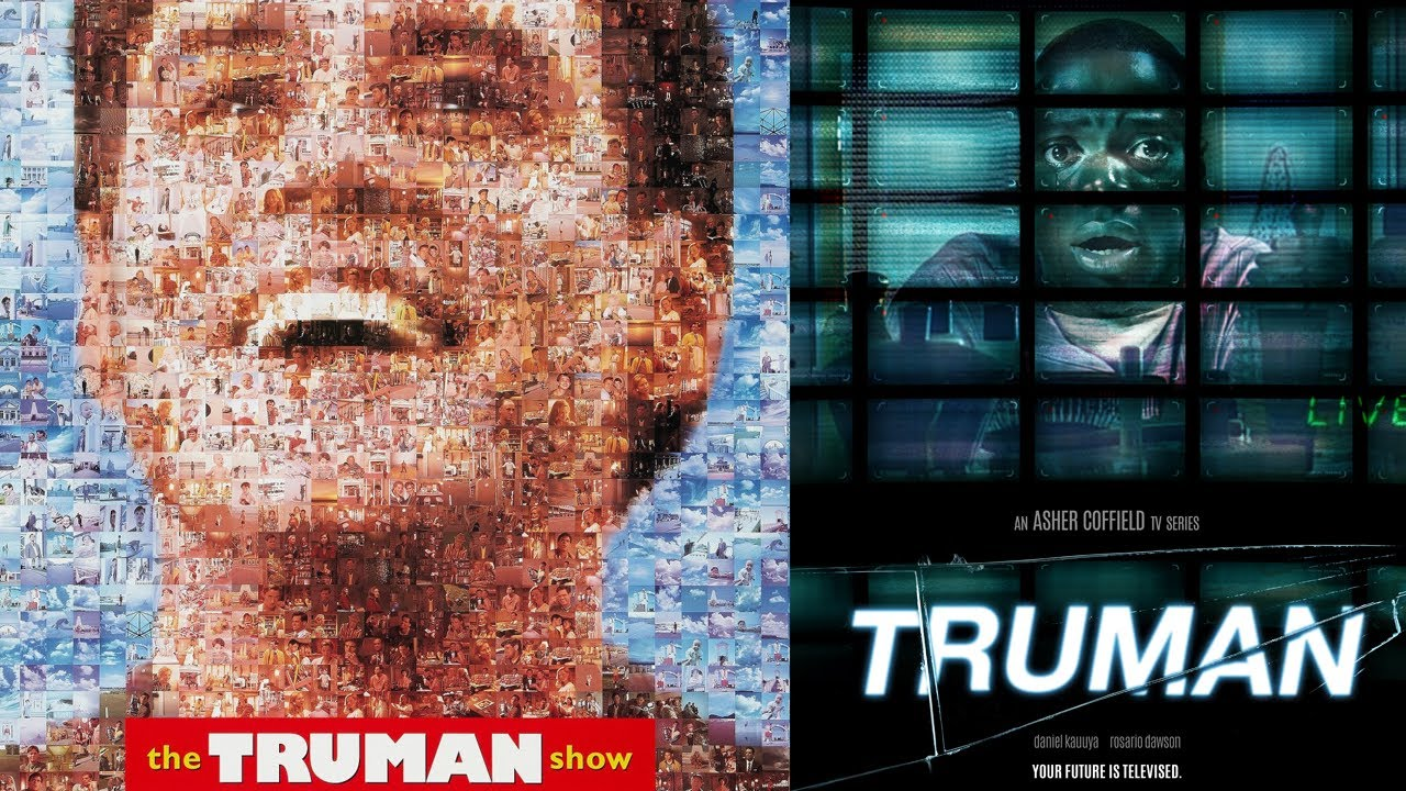 theme in being there and the truman show