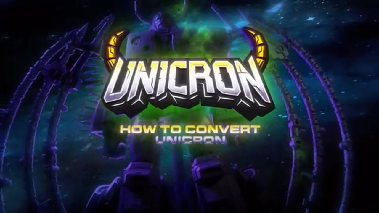 Transformers: War For Cybertron HasLab Unicron Official Conversion Video