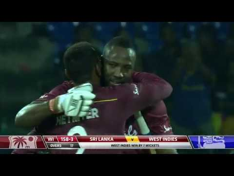 Andre Russell's star performance | Sri Lanka vs West Indies 2nd T20I | Match Highlights