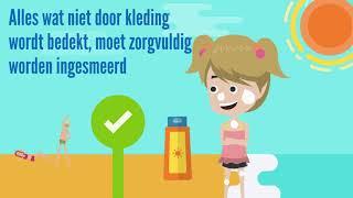 Zonnebrandbescherming voor kinderen