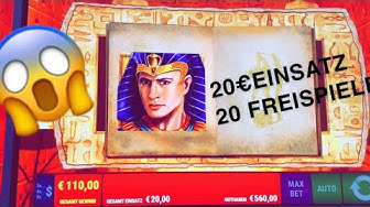 MAX BET 20€ Einsatz Ramses Book / Online Casino Slot Big WIN!? 2020 Slots on Freespins KINGLucky68