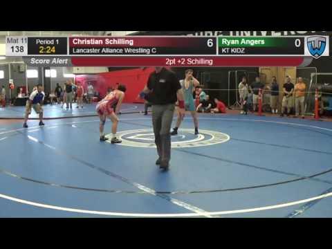 26 Junior Men 138 Christian Schilling Lancaster Alliance Wrestling C vs Ryan Angers KT KIDZ 41407061