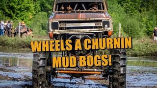 TRUCK MUD BOGS at Wheels A Churnin North Agusta June 2019