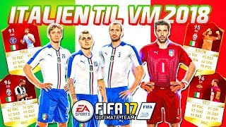 ITALIEN TIL VM 2018!! - FIFA 17 Ultimate Team (DANSK)